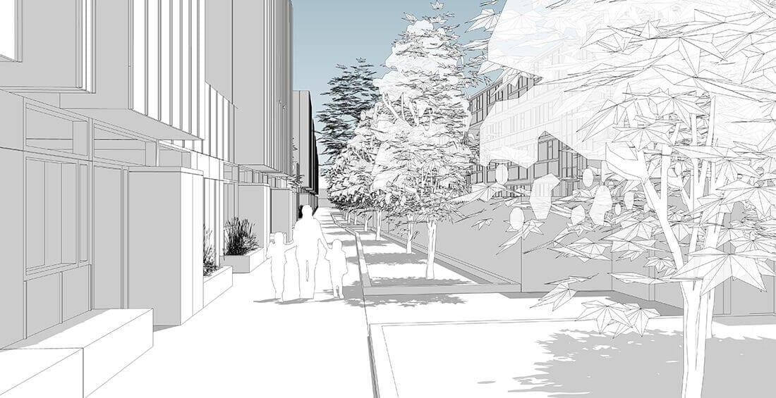 Warbank Crescent Project Image