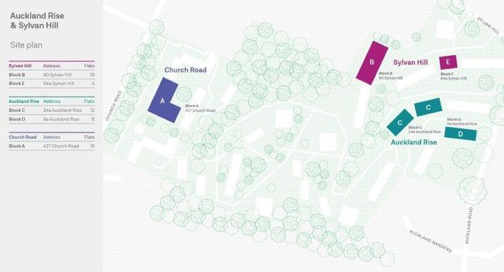 Auckland Site Plan