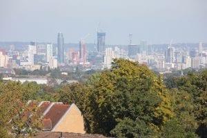 the built environment in croydon