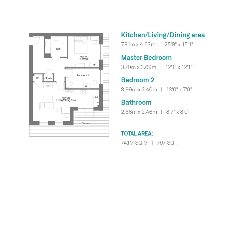 Auckland Rise Floorplan Plot 4
