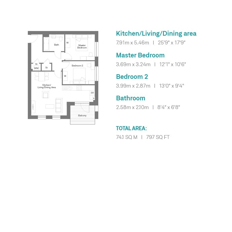 Auckland Rise Floorplan Plots 8, 12 and 16