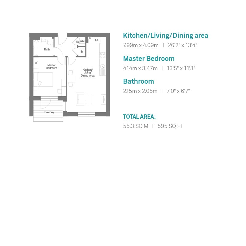 Auckland Rise Floorplan Plots 6 - 10