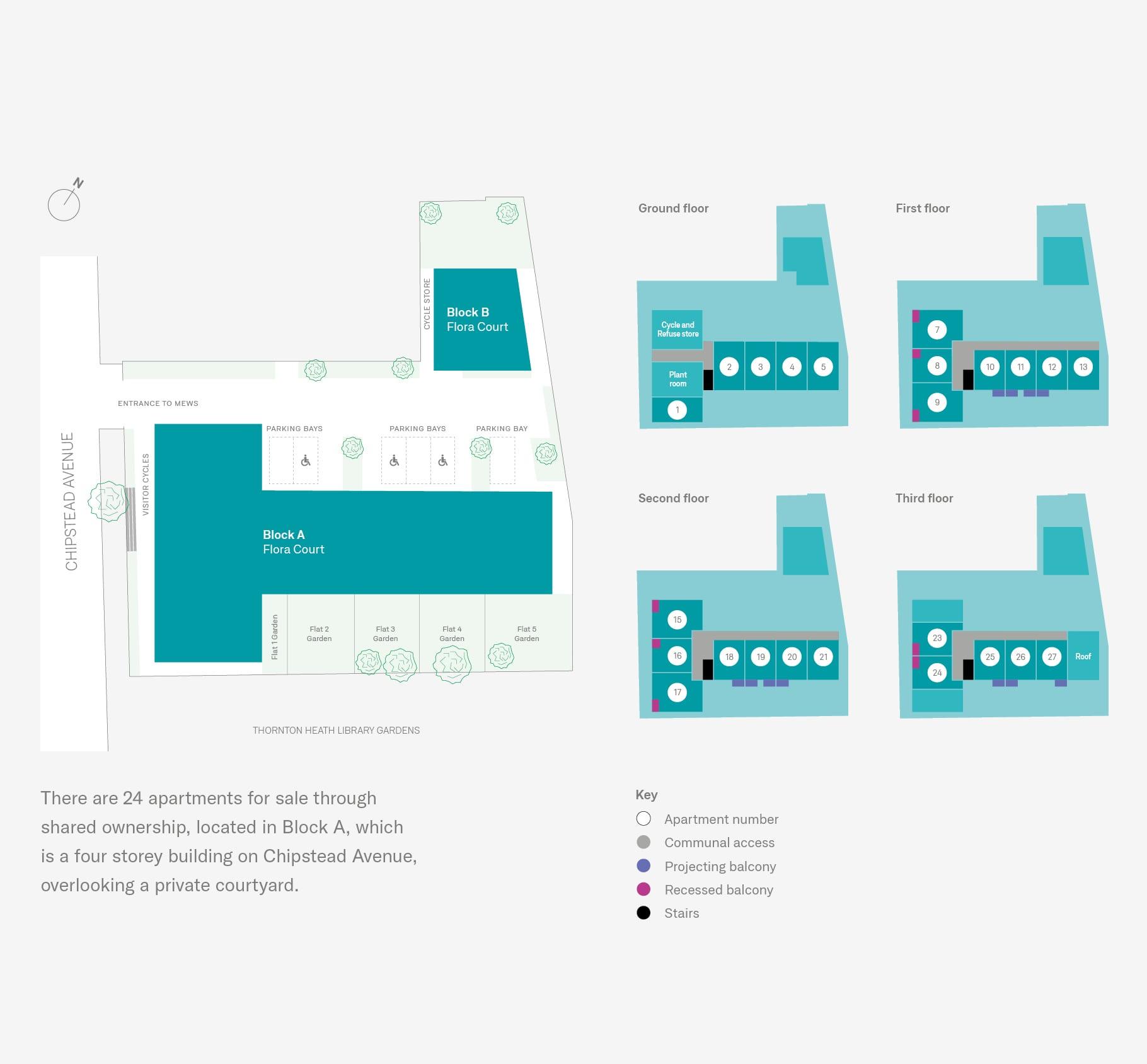 Flora Court Site Plan