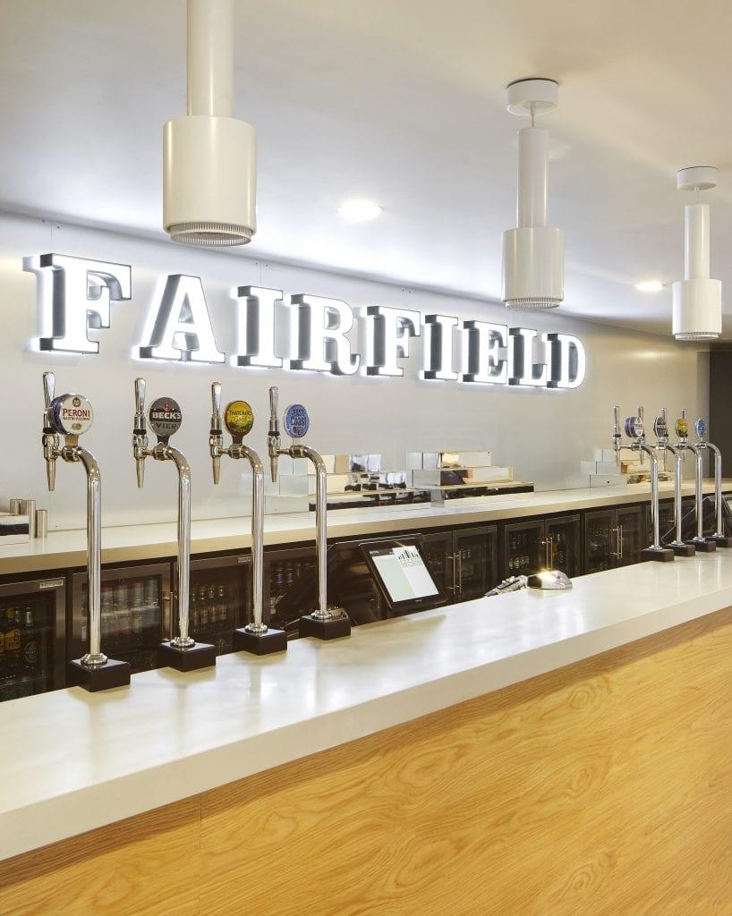 Fairfield Halls Bar In Croydon