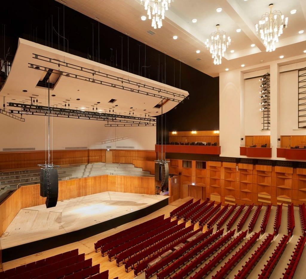 Fairfield Halls Mica Architects Theatre In Croydon