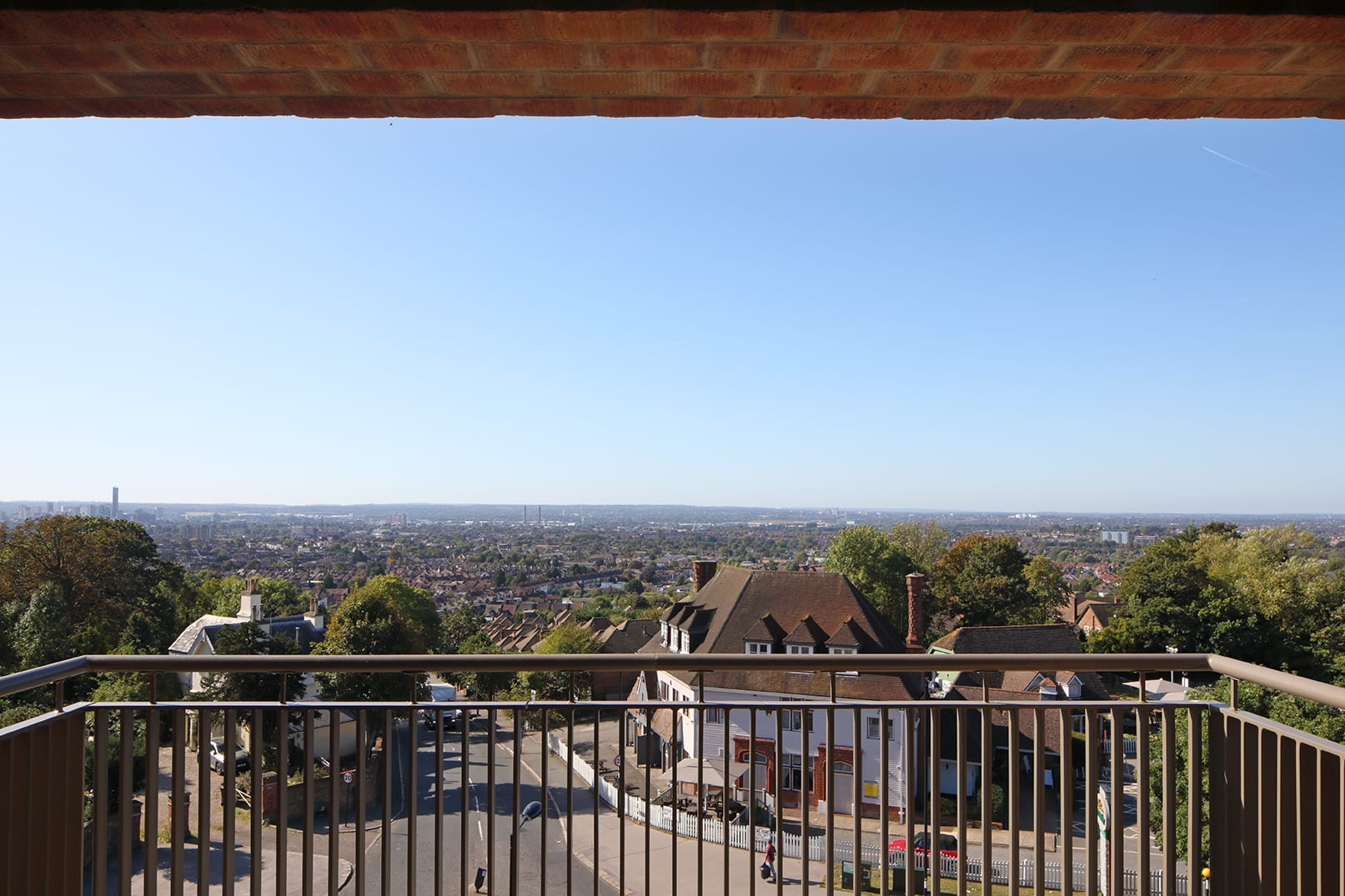 View from Harold and Beulah Hill Croydon by BBB