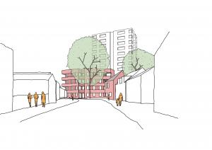Bramley Hill in South Croydon
