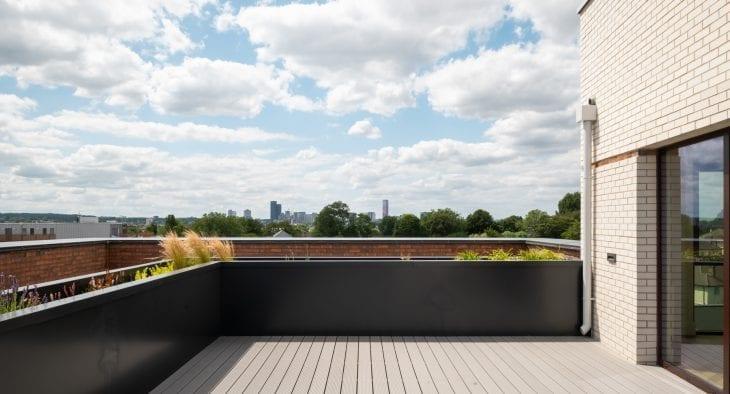 Pump House roof terrace